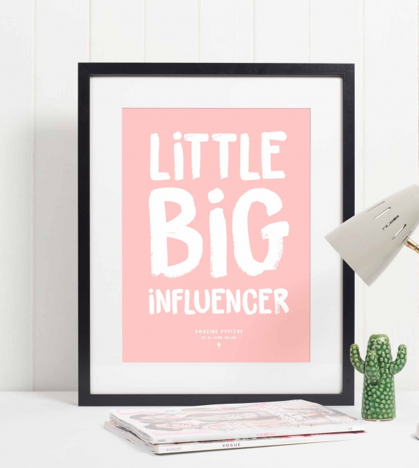 Lámina little big influencer